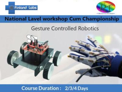 Gesture Controlled Robotics