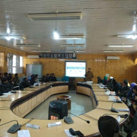 1 Week FDP on IOT using Arduino at Amar Singh College,Srinagar